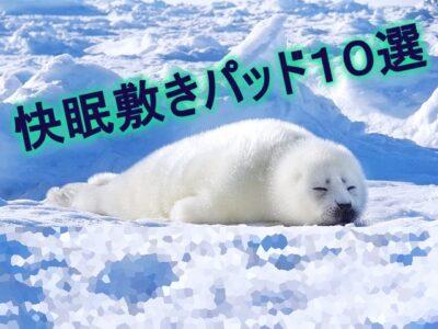 快眠_敷きパッド_冷感